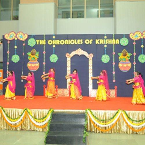 Janmashtami Class Room Decoration